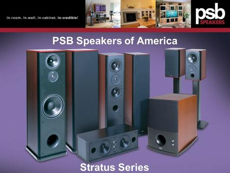 PSB Speakers of America
