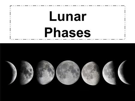 Lunar Phases. Motions of the Moon The moon moves in two ways just like the Earth: It ROTATES on its axis It REVOLVES around Earth because of Earth's gravitational.