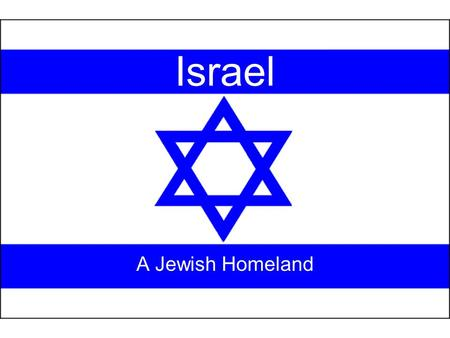 Israel A Jewish Homeland. Palestine Territories of Israel, West Bank, and the Gaza Strip.