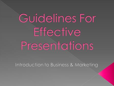 What is your topic?  What is the purpose of your presentation?  Who is your audience? › What do they know? › What are they interested in?