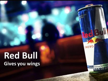 Red Bull Gives you wings. Facts Red Bull GmbH (Ltd.) Founded in 1987 – Dietrich Mateschitz Fuschl am See, Austria FACTS History Products Ingredients Finance.