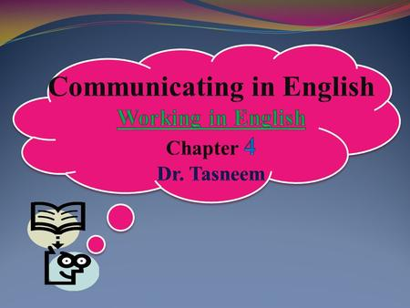 Introduction: This chapter follows on from ideas put forward in previous chapters about how spoken and written English varies according to its context.
