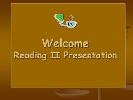 Welcome Reading II Presentation. What is reading..? 1. Reading is a most complex process requiring very specialized skills on the part of the reader.