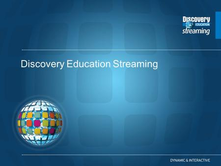 Discovery Education Streaming. What are your experiences with using video and other digital media in the classroom? Building WebQuests Using Clip Art.