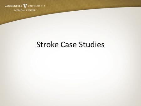 ems stroke case studies