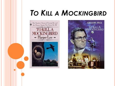 the 1930s in alabama in to kill a mockingbird a novel by harper lee Harper lee, author of the pulitzer prize-winning novel to kill a mockingbird, one of the most significant works in the history of american literature, died friday at age 89 in her hometown of .