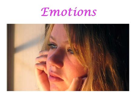 Emotions. THE CHRISTIAN WOMAN and Emotions Ecclesiastes 3:4 Psalm 139:13-14 Psalm 56:3-4 2 Timothy 1:7 Romans 8:15-16.