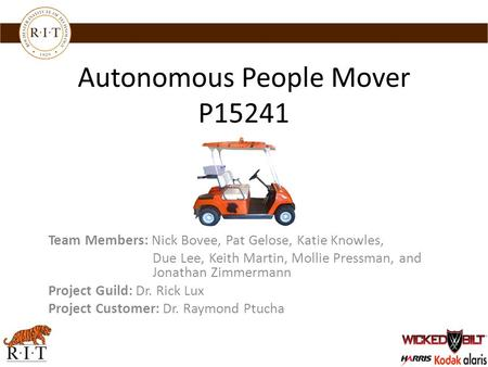 Autonomous People Mover P15241