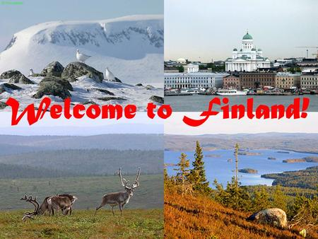 Welcome to Finland!. Finland, officially the Republic of Finland, is a N N N Nordic country s ss situated in Northern Europe.