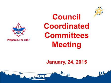 Council Coordinated Committees Meeting January, 24, 2015.