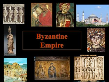 Byzantine Empire. Church of Hagia Sophia Constantinople (Istanbul Today)