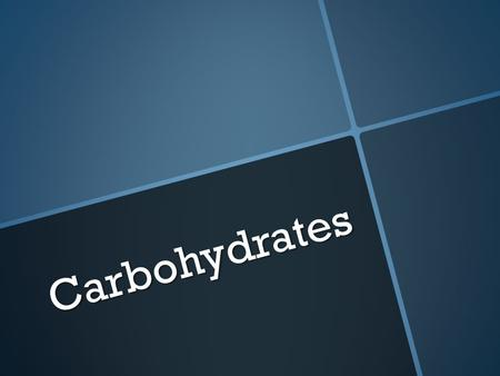 Carbohydrates Carbohydrates. What are Carbohydrates  An organic compound that is the body's main source of energy.  They are found mainly in plants.