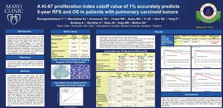 Ki-67 index cutoff value of 1% is a valuable prognostic biomarker for pulmonary carcinoids based on this large cohort. Our data also provide strong evidence.