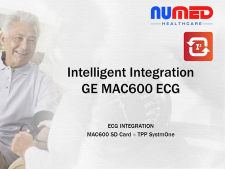 ECG INTEGRATION MAC600 SD Card – TPP SystmOne Intelligent Integration GE MAC600 ECG.