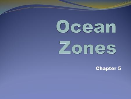 Chapter 5. Exploring the Ocean People have studied the ocean since ancient times, because the ocean provides food and serves as a route for trade and.