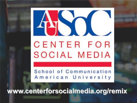 Www.centerforsocialmedia.org/remix. Title Fair Use in Online Video An Introduction to the Code of Best Practices in Fair Use For Online Video An Introduction.