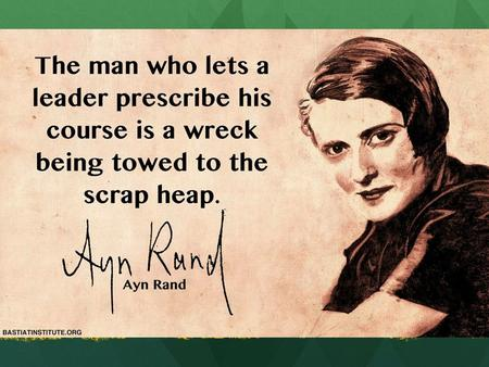 Collectivism Ayn Rand: Maybe she's not so crazy.