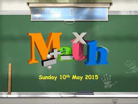 Sunday 10 th May 2015. WALT: Read and write proper fractions. Sunday 10 th May 2015.