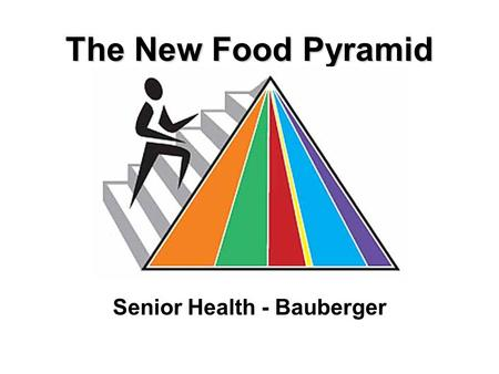 The New Food Pyramid Senior Health - Bauberger.