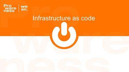 "Infrastructure as code. ""Enable the reconstruction of the business from nothing but a source code repository, an application data backup, and bare metal."