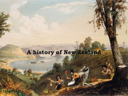 A history of New Zealand. Pre-European New Zealand New Zealand history is very short in comparison with other countries. It was not settled by the first.