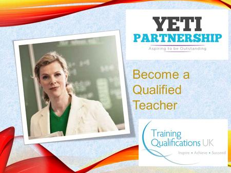 Become a Qualified Teacher. Initial Teacher Training Programmes Further Education Teachers with Qualified Teacher Learning and Skills (QTLS) status are.