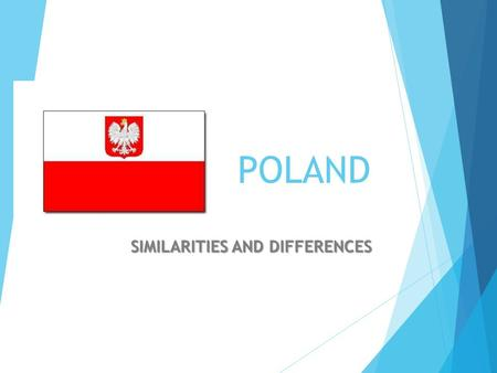 POLAND SIMILARITIES AND DIFFERENCES. Poland has many neighbors : Germany Lithuania Russia Slovakia Ukraine Czech Republic Portugal has only one neighbor:Spain.