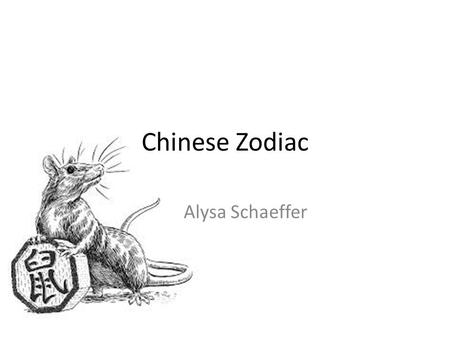 Chinese Zodiac Alysa Schaeffer. Shēngxiào Scheme & Systematic 12 year cycle Popular in East Asian countries Personality Years Vs months Constellations.