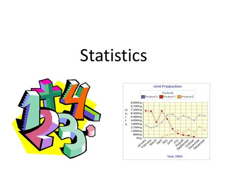 Statistics. Descriptive Statistics Organize & summarize data (ex: central tendency & variability.