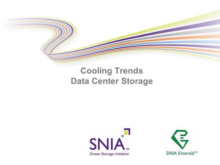 PRESENTATION TITLE GOES HERE Cooling Trends Data Center Storage.