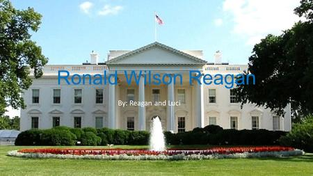 Ronald Wilson Reagan By: Reagan and Luci. Personal Facts Ronald Reagan was born on February 6 th, 1911 in Tampico Illinois. His mother was Nelle Wilson.