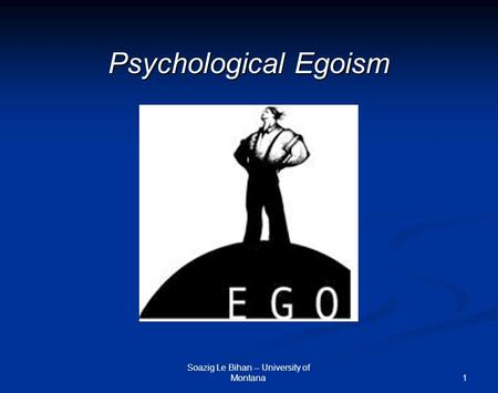 an essay on egoism The virtue of selfishness: a new concept of egoism  it's a collection of essays  by ayn rand and nathanial branden that are not pro-heathenism per se.