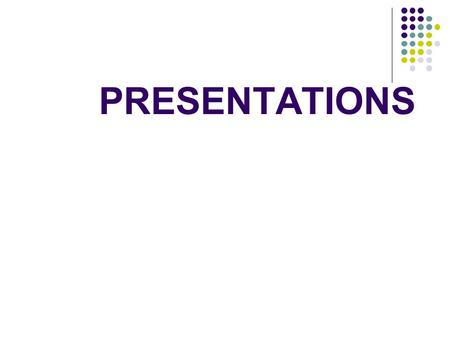 how to make a good presentation ppt