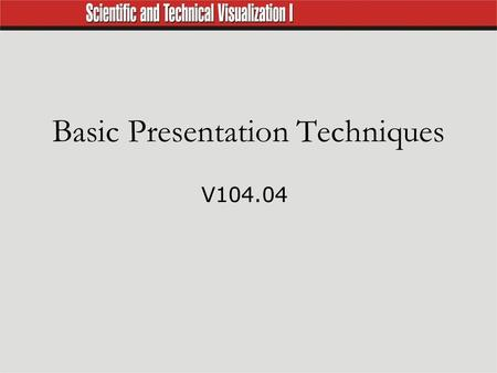 Basic Presentation Techniques V104.04. Elements of Visual Aids  Images are pictorial elements such as line drawings, photographs, or continuous tone.