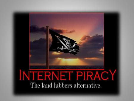 Definition of Internet Piracy Definition of Internet Piracy Internet Piracy The unlawful reproduction and/or distribution of any copyrighted digital file.