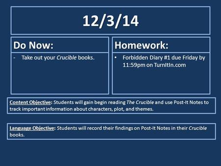 objectives of the study friday Home → sparknotes → literature study guides → robinson crusoe → study questions robinson it is objective and and acknowledges that friday is good.