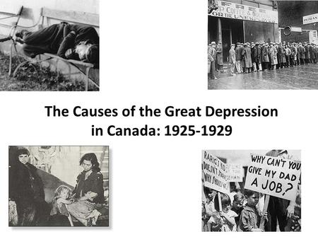 causes the great depression essay Causes of the great depression 1 posted by causes of the depression and roots of the progressive movement historical essay.