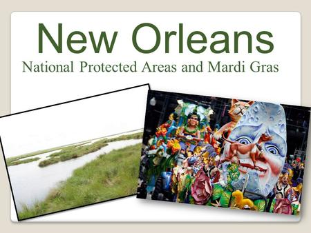 New Orleans National Protected Areas and Mardi Gras.