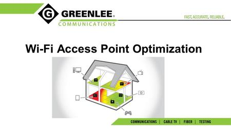 Wi-Fi Access Point Optimization. 2 Trends in Communications Wired  wireless, Cellular  Wi-Fi. Wi-Fi has become the medium of choice. 2/3 of US consumers.