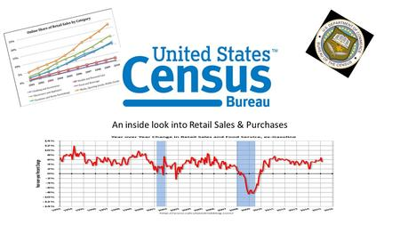 An inside look into Retail Sales & Purchases. Refresh: (About US Census Bureau) Agency of the Federal Statistical System Accumulates and reports on American.