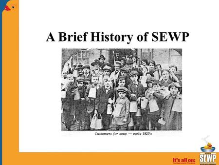 A Brief History of SEWP. SEWP Godfathers SEWP Pioneer and Innovator.