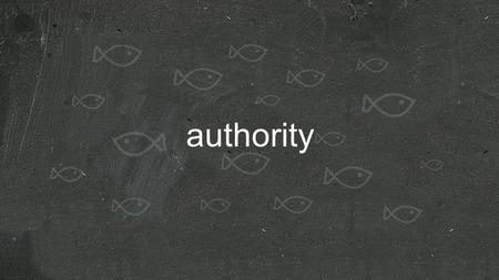 Authority. Our new identity... 1)The new temple in which God dwells 2)Ordained as his priests 3)Set apart as a chosen people and a holy nation.