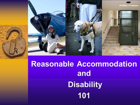 Reasonable Accommodation and Disability 101. Laura Kuhn Regional Disability Coordinator Laura Kuhn Regional Disability Coordinator 2.