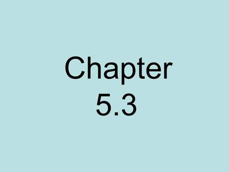 Chapter 5.3. Give an algebraic expression that represents the sequence of numbers. Let n be the natural numbers (1, 2, 3, …). 2, 4, 6, … 1, 3, 5, … 7,
