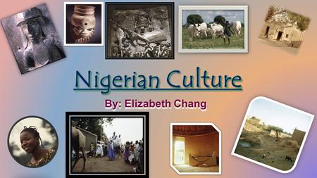 Religion There were some religions in Nigeria that coexisted. They have helped emphasize regional and ethnic characteristics. In 1990, all of the different.