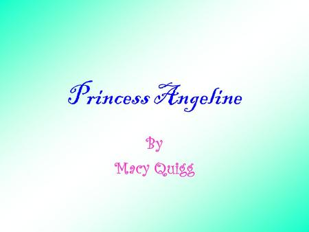 Princess Angeline By Macy Quigg Who was Princess Angeline? Princess Angeline was the connection between the Duwamish Native Americans and the white settlers.