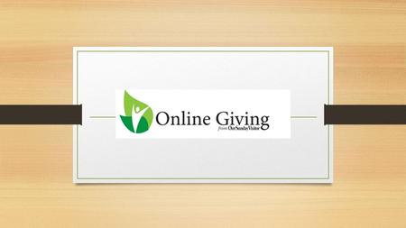 Interested In Online Giving Visit our parish website smcr.orgsmcr.org and click here.
