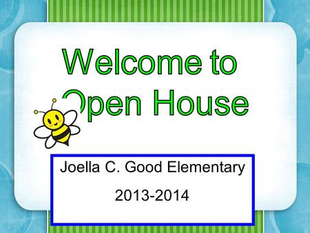Joella C. Good Elementary 2013-2014. Mrs. J. Ledo – Math/Science Mrs. V. Gonzalez – Reading/Language Arts/Social Studies.