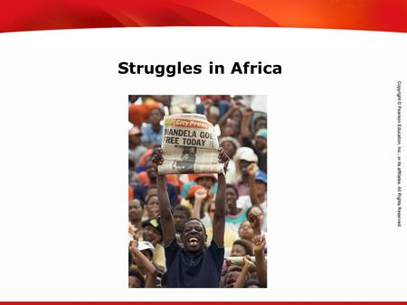TEKS 8C: Calculate percent composition and empirical and molecular formulas. Struggles in Africa.