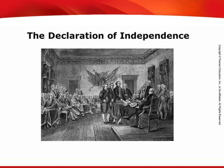 TEKS 8C: Calculate percent composition and empirical and molecular formulas. The Declaration of Independence.
